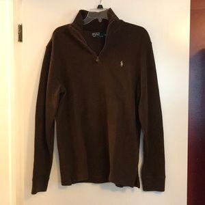 Polo 1/4 zip sweatshirt